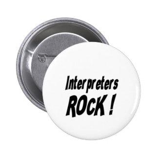¡Roca de los intérpretes! Botón Pins