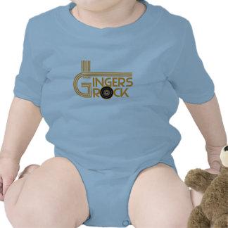 Roca de los jengibres trajes de bebé