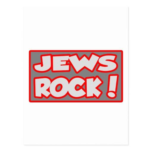 ¡Roca de los judíos! Postales