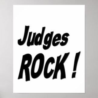 ¡Roca de los jueces Impresión del poster
