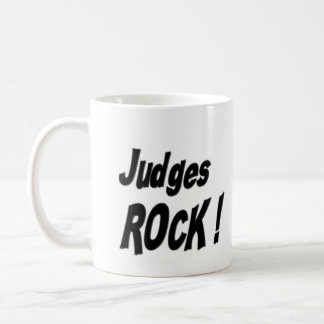 ¡Roca de los jueces! Taza