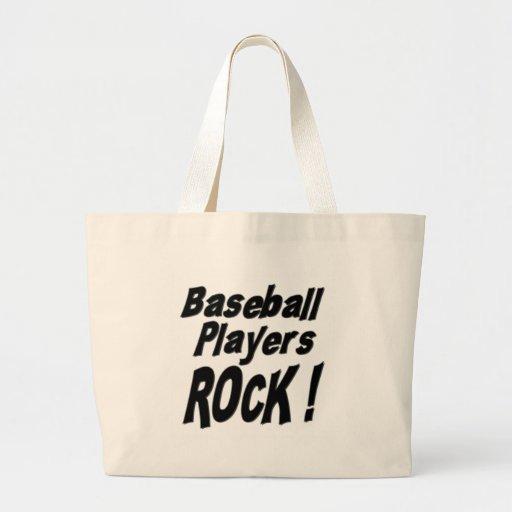 ¡Roca de los jugadores de béisbol! La bolsa de asa