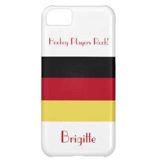 ¡Roca de los jugadores de hockey! - Bandera Carcasa iPhone 5C