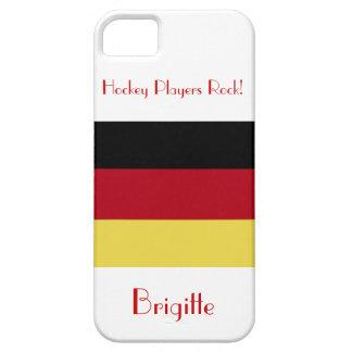 ¡Roca de los jugadores de hockey! - Bandera Funda Para iPhone SE/5/5s