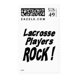 ¡Roca de los jugadores de LaCrosse! Envio