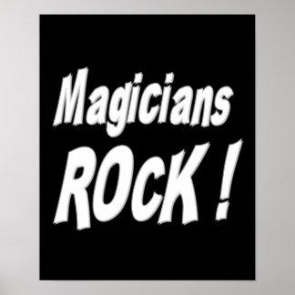¡Roca de los magos Impresión del poster