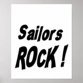 ¡Roca de los marineros Impresión del poster