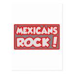 ¡Roca de los mexicanos! Postal