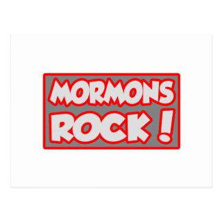 ¡Roca de los mormones! Postal