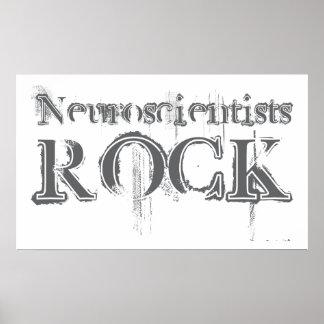 Roca de los neurólogos póster
