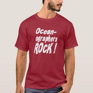 ¡Roca de los oceanógrafos! Camiseta
