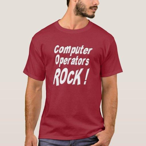 ¡Roca de los operadores! Camiseta