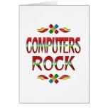 Roca de los ordenadores felicitación