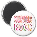 Roca de los ordenadores imanes