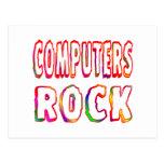 Roca de los ordenadores postal