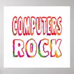 Roca de los ordenadores posters
