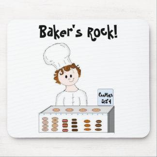 Roca de los panaderos tapetes de ratones