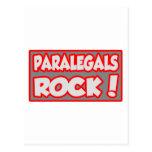 ¡Roca de los Paralegals! Postal