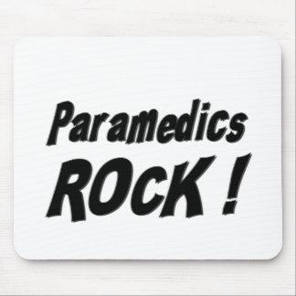 ¡Roca de los paramédicos Mousepad Tapetes De Raton