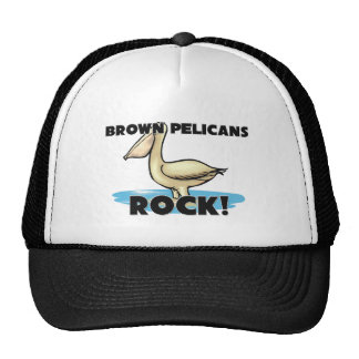 Roca de los pelícanos de Brown Gorras De Camionero