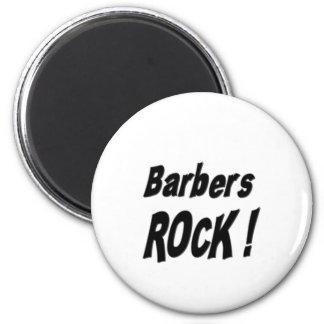 ¡Roca de los peluqueros! Imán