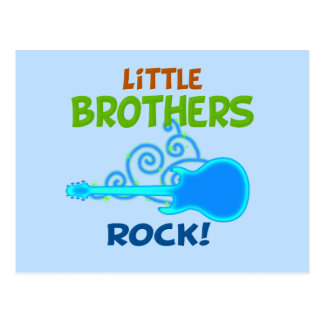 Roca de los pequeños hermanos tarjetas postales
