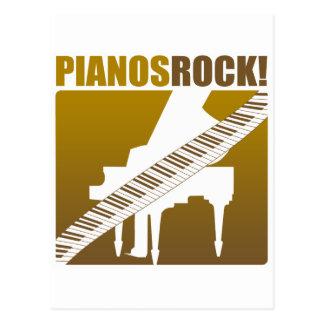 ¡Roca de los pianos! Postales