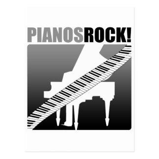 ¡Roca de los pianos! Tarjetas Postales