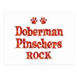 Roca de los Pinschers del Doberman Postal