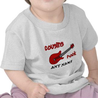 ¡Roca de los primos! con la guitarra roja Camiseta