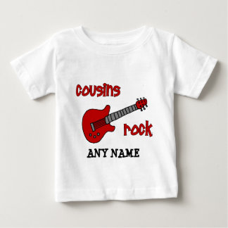 ¡Roca de los primos! con la guitarra roja Playera