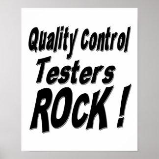 ¡Roca de los probadores del control de calidad Im