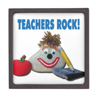 ¡Roca de los profesores Caja de regalo Caja De Regalo De Calidad