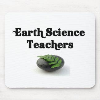 Roca de los profesores de ciencias de la tierra tapete de ratones