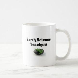 Roca de los profesores de ciencias de la tierra tazas