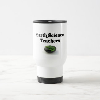 Roca de los profesores de ciencias de la tierra taza térmica