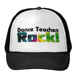 ¡Roca de los profesores de la danza! Gorros Bordados