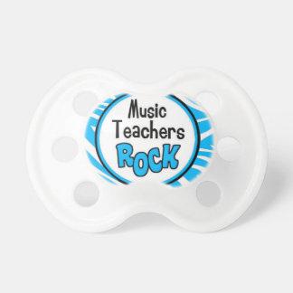 roca de los profesores de música chupetes para bebés