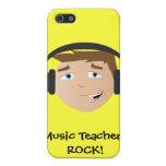 ¡ROCA de los profesores de música! iPhone 5 Fundas