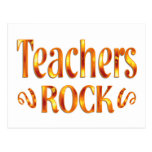 Roca de los profesores postal