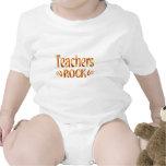 Roca de los profesores trajes de bebé