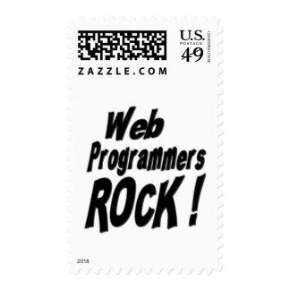 ¡Roca de los programadores del Web! Franqueo