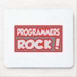 ¡Roca de los programadores! Tapete De Raton