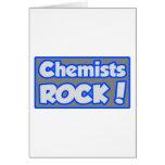 ¡Roca de los químicos! Felicitaciones