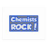 ¡Roca de los químicos! Postales