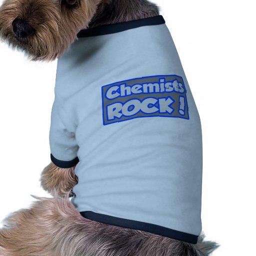 ¡Roca de los químicos! Camiseta De Perro