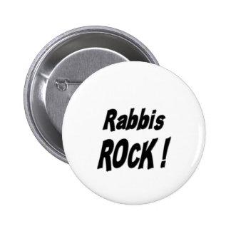 ¡Roca de los rabinos! Botón Pin
