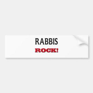 Roca de los rabinos pegatina para auto