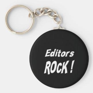 ¡Roca de los redactores! Llavero