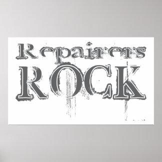 Roca de los reparadores impresiones